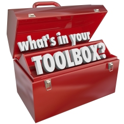 The question What's in Your Toolbox? asking if you have the skil