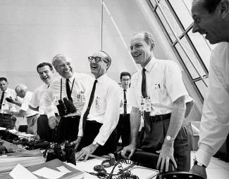 Apollo 11 engineers